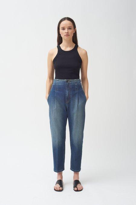 Colovos Buckle Jean - Medium Fade
