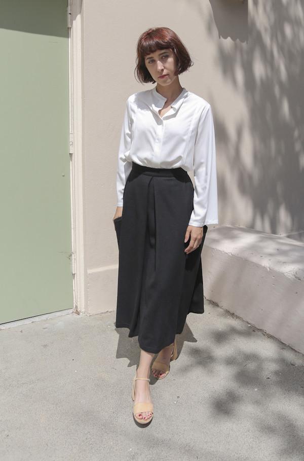 Wolcott : Takemoto Gladys Skirt in Black