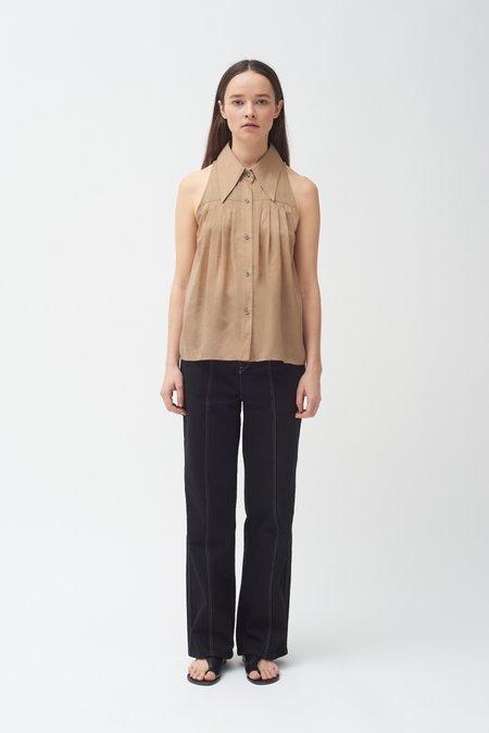 Colovos Sleeveless Shirt - Khaki