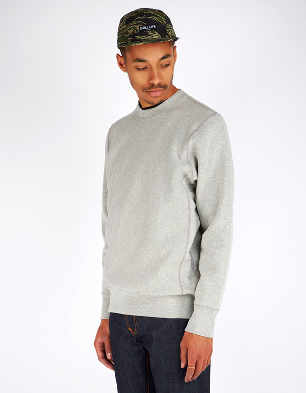 Men's Still Life Crewneck Sweatshirt Heather Grey
