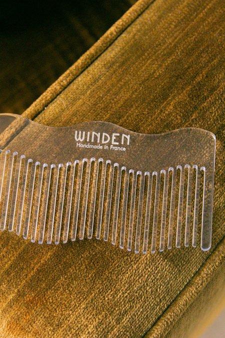 Winden Bowie Comb - Crystal