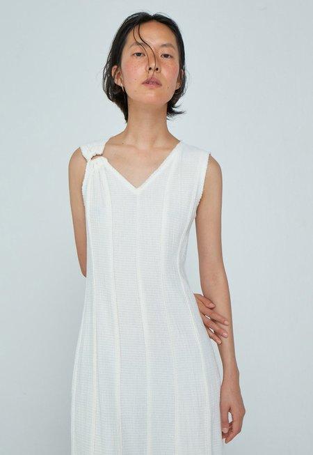 WNDERKAMMER Panel Dress - White