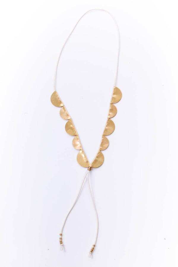 SAINT CLAIR Scout Necklace (White)
