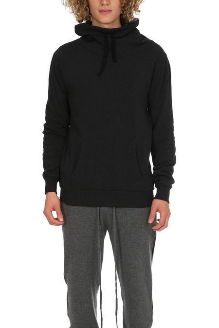 Crossley Fossarid Fleece Mockneck Sweater - Charcoal