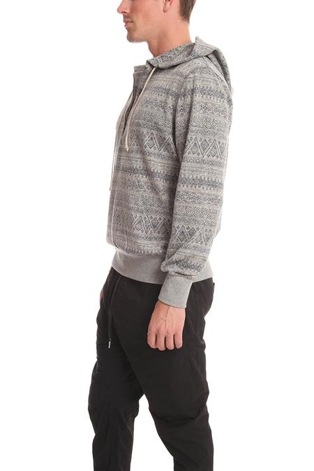 BCNY Brady 1/4 Zip Hoodie Sweater - Blue Brady