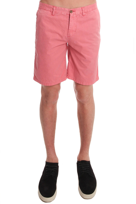 Jachs Shirt Co Chino Short - Magenta