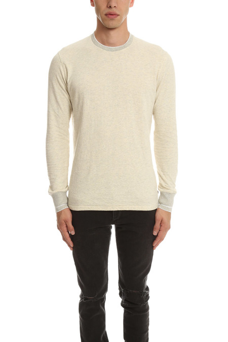 Shuttle Notes The Feel LS Sweater - Oatmeal