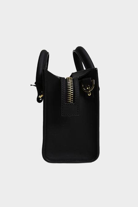 Sophie Hulme Box Albion Saddle Bag - Black
