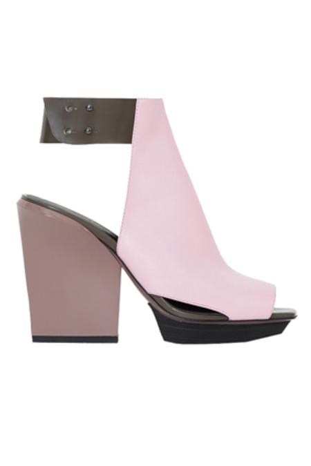 3.1 Phillip Lim Juno High Vamp Sandal Shoes - Bubblegum