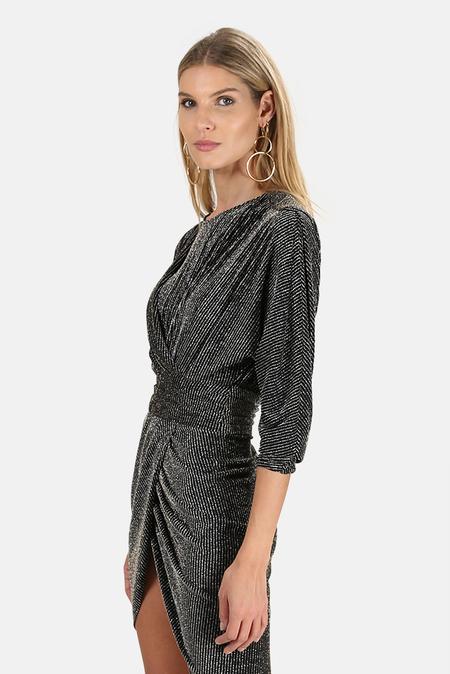 IRO Magnus Dress - Black/Silver
