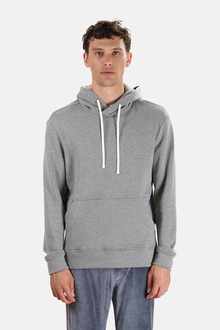 Wheelers.V Ludlow Pullover Hoodie Sweater - Mild Grey
