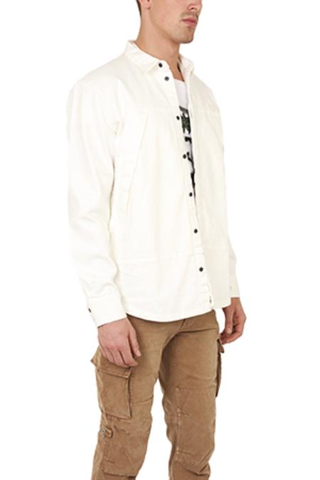 Onestroke Ones Stroke Denim Shirt - White