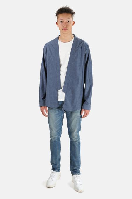Blue&Cream Kimono Top sweater - Navy