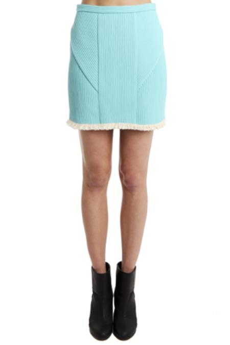 3.1 Phillip Lim Corded Mini Skirt - Sky Blue