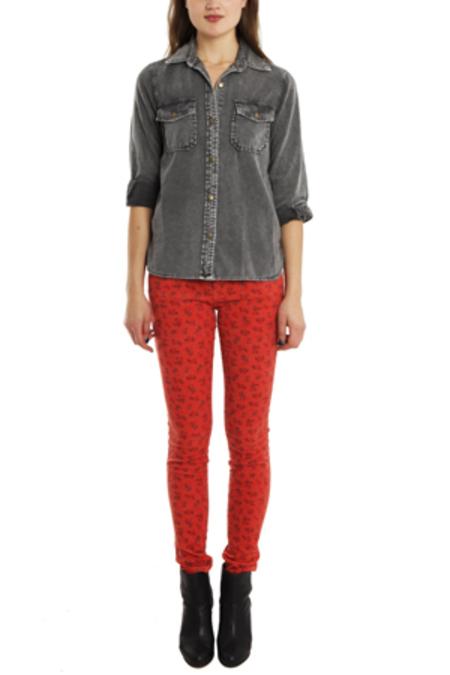 Current Elliott Ankle Skinny Jeans - Poppy Ditsy