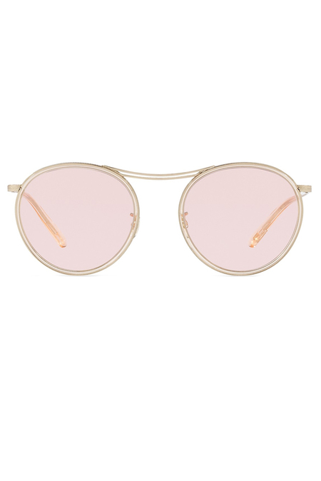 Oliver Peoples MP-3 30th - Brushed Gold / Pink Wash