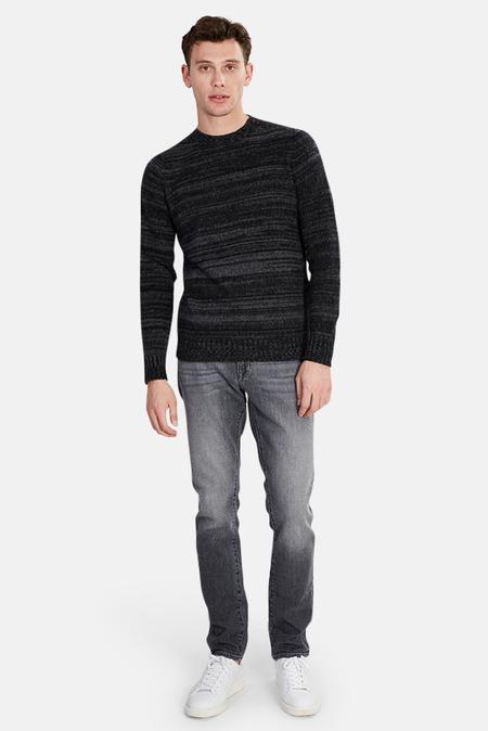 120% LINO Cashmere Sweater - Charcoal Melange