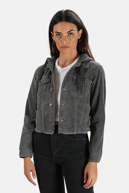 NSF Rusty Crop Jacket - Pigment Black