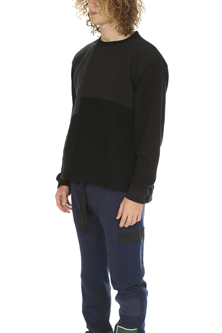 Longjourney Nash Champion Sweatshirt - Black