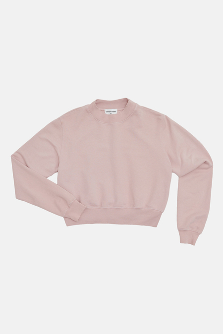 Cotton Citizen Milan Crew Sweatshirt Sweater - Rose