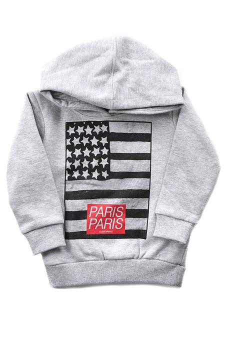 Kids Little Eleven Paris USA Paris HC Hoody Top - Grey