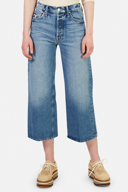 Mother Denim The Tomcat Roller Shorty Jeans - Take Me Higher
