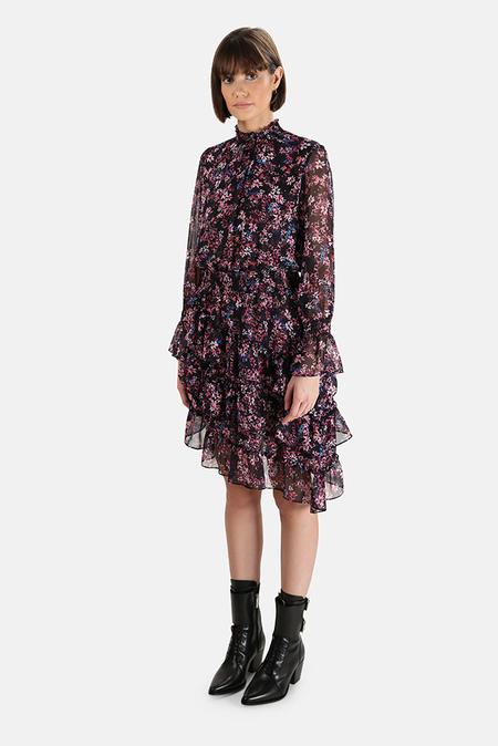 MISA Los Angeles Savanna Dress - Purple Floral