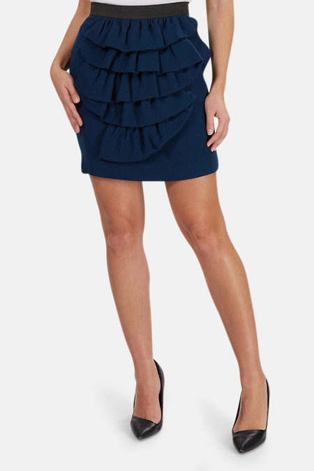3.1 Phillip Lim Ruffle Skirt - Midnight