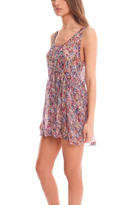 Margaux Lonnberg Naeva Dress - Sheer Floral