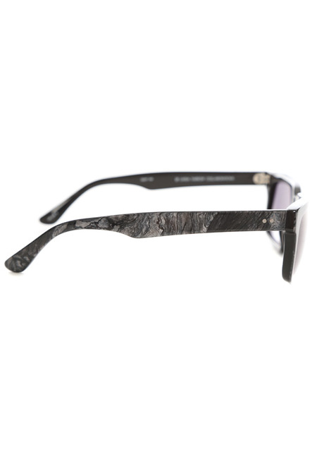 Raf Simons Marble Sunglasses - Grey Marble