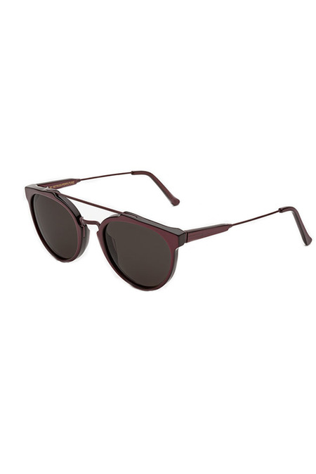 RETROSUPERFUTURE Giaguaro Femmena Sunglasses - Brown