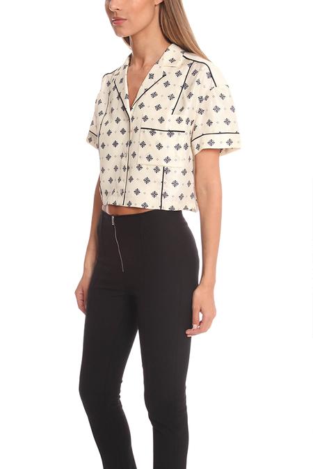 Rag & Bone Winifred Shirt - Cap Diamond