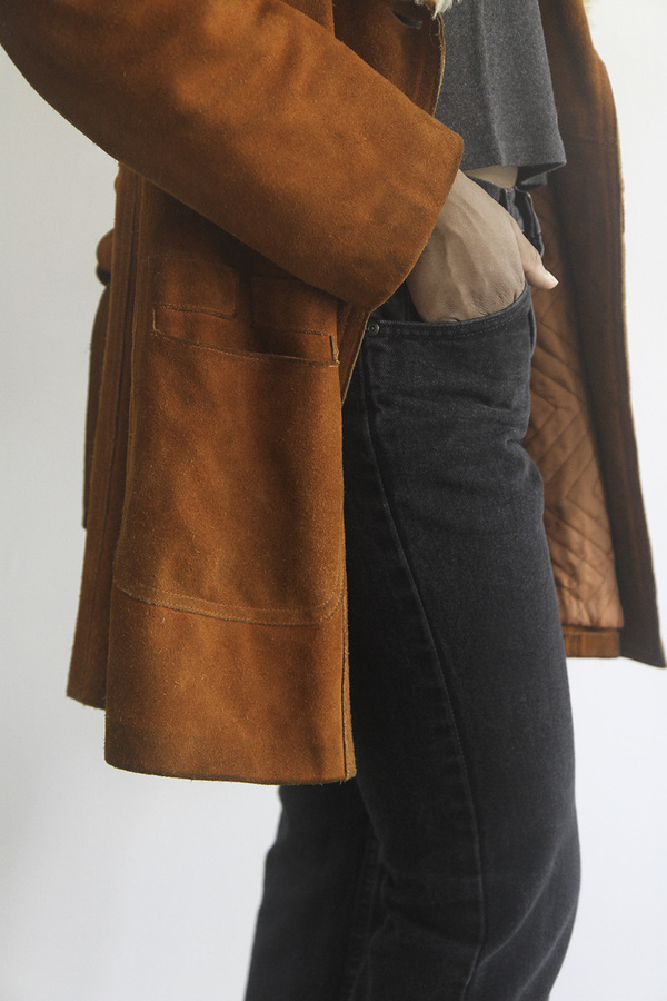Rawson Vintage Burnt Orange Penny Lane Jacket