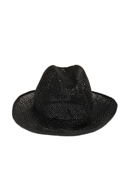 MM6 MARTIN MARGIELA Woven Hat - Black