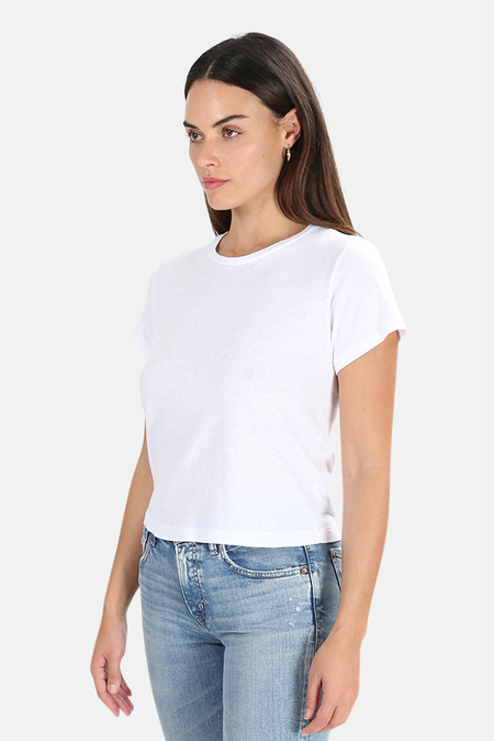 RE/DONE The Classic T-Shirt - White
