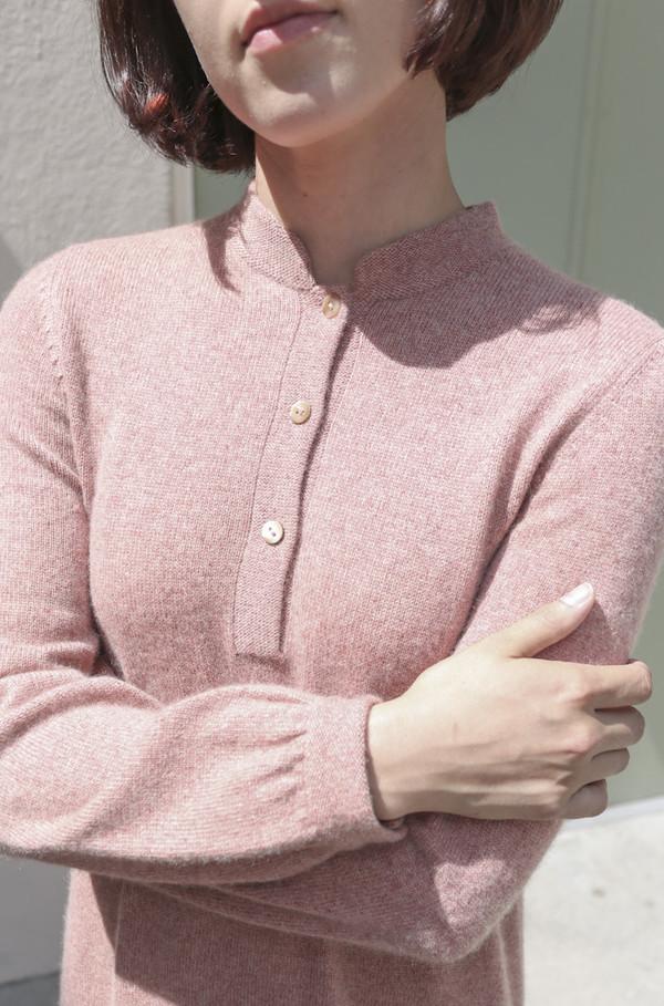 NONNA Vintage Halston 1970's Cashmere Knit Dress