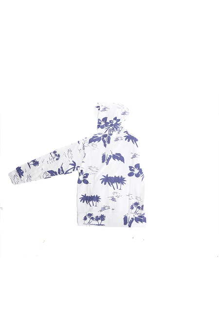 Kids Monrow Zip Hoody - White Hawaiian