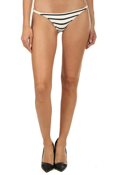Solid & Striped The Morgan Bottom Swimwear - Cream Breton