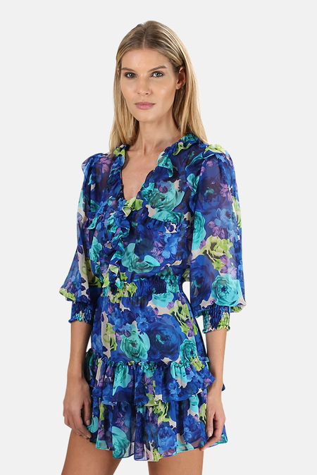 MISA Los Angeles Zorina Dress - Electric Floral