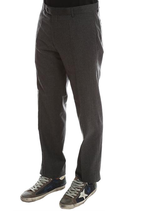 Simon Spurr Worsted Wool Pants W33 - Charcoal