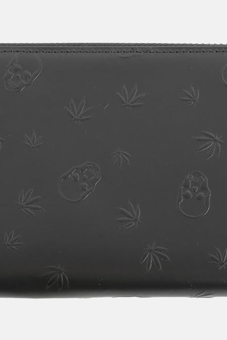 Lucien Pellat-Finet Long Zip Wallet - Black