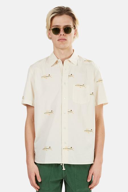 La Paz Alegre Printed Flying Fish Shirt