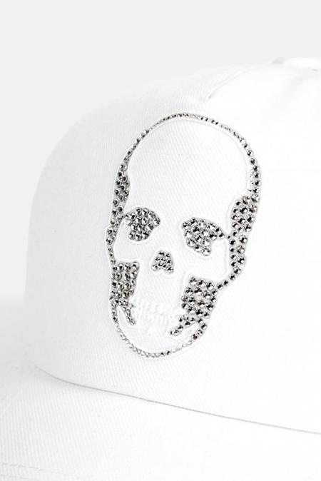 Lucien Pellat-Finet Skull Cap - White