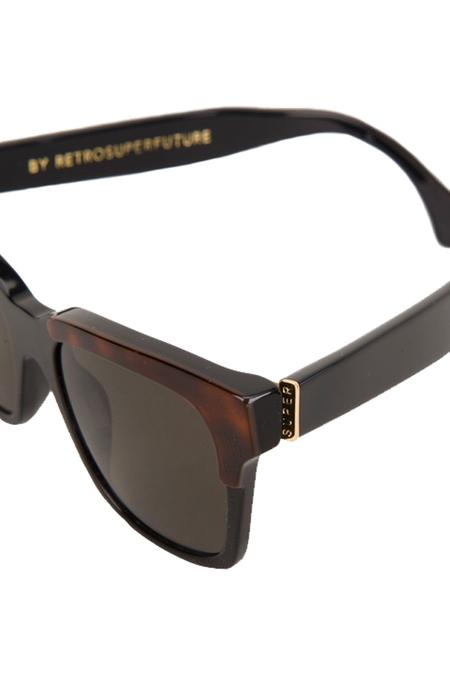 RetroSuperFuture America Ego Sunglasses - Black