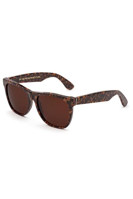 RetroSuperFuture Classic Havana Materica Sunglasses - Brown