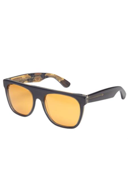RETROSUPERFUTURE Flat Top Remember Zoo Sunglasses - Grey