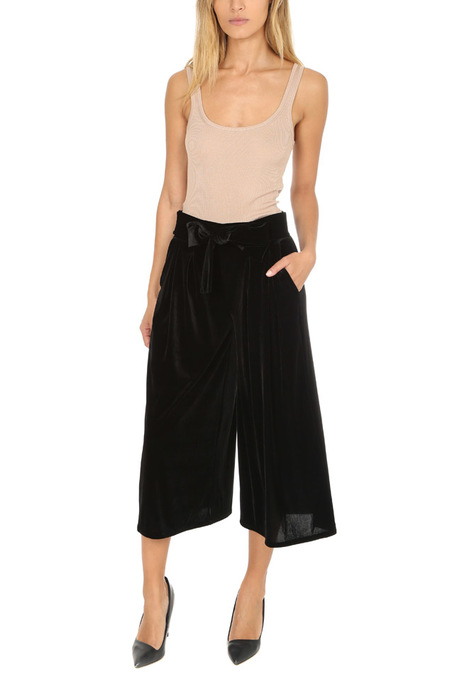 MISA Los Angeles Coco Velvet Pants - Black