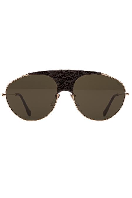 RETROSUPERFUTURE Leon Belloccio Sunglasses - Brown