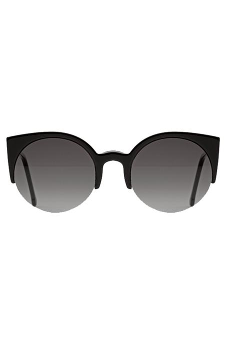 RETROSUPERFUTURE Lucia Ilaria Matte eyewear - Black
