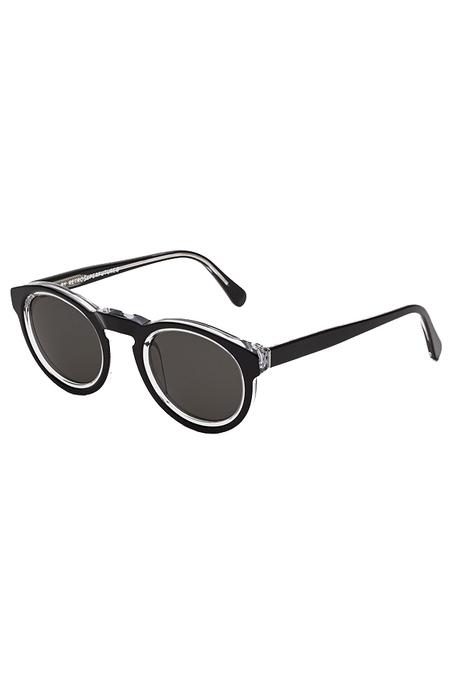RETROSUPERFUTURE Paloma Achromatic Sunglasses - black